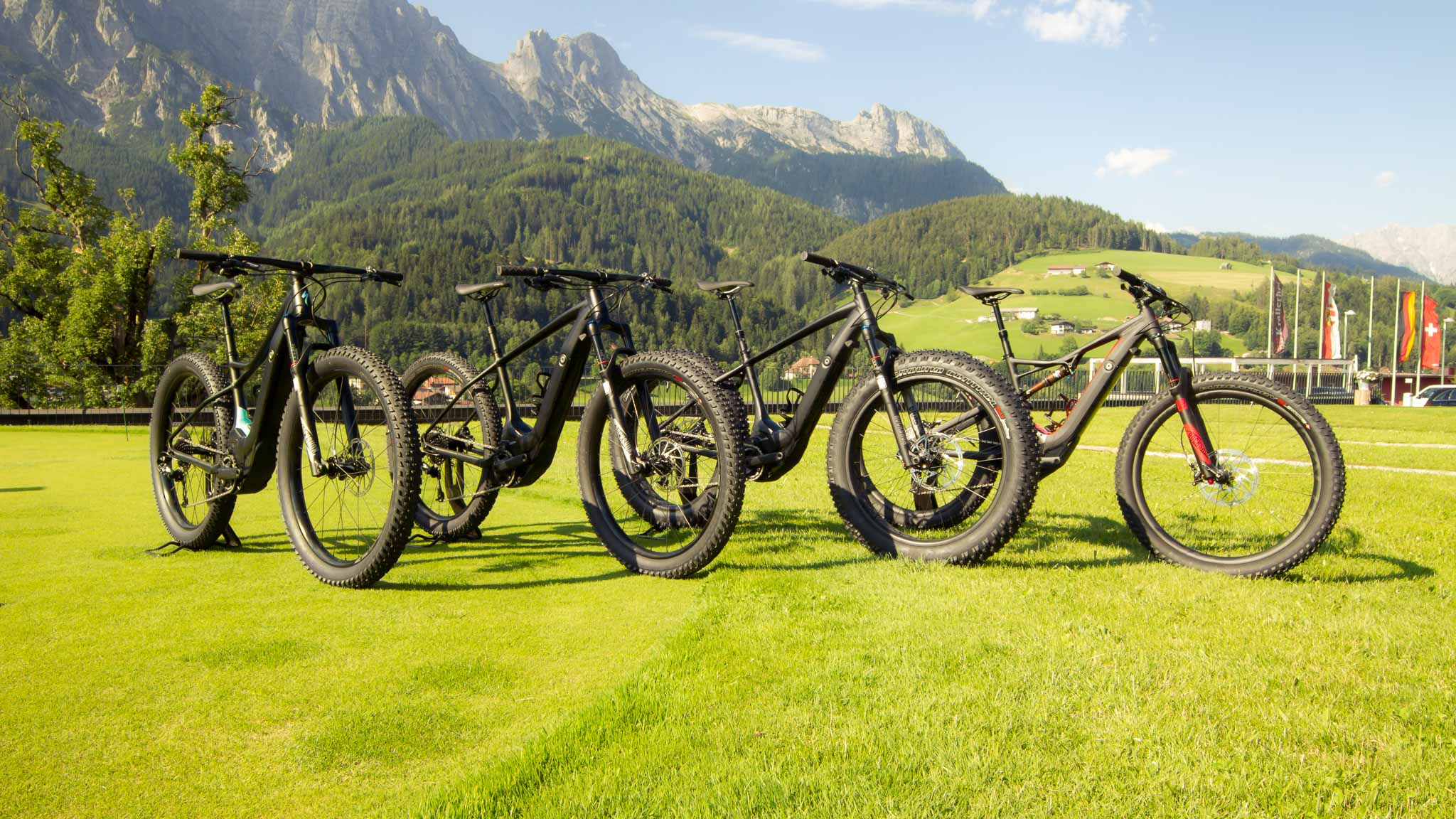 Specialized Levo: Vier Modelle