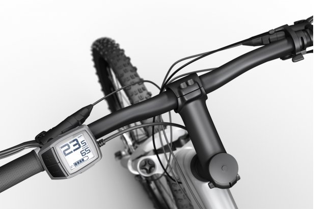 E-Bike-Lenker mit Display
