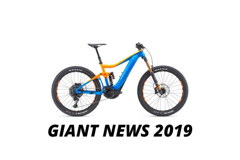 Giant E-Bike Neuheiten 2019