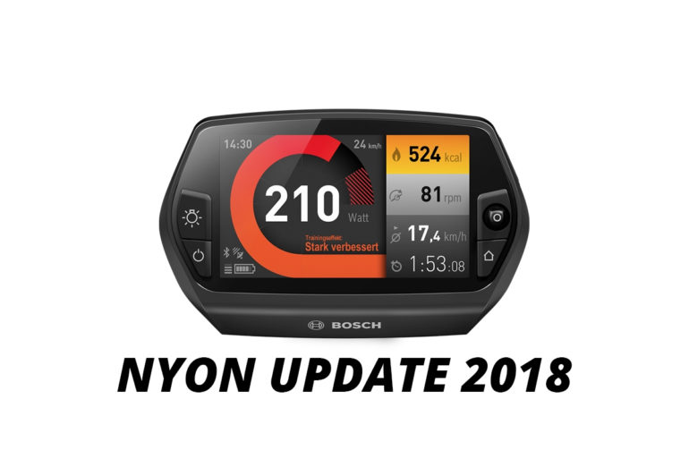 Bosch Nyon Display Update 2018