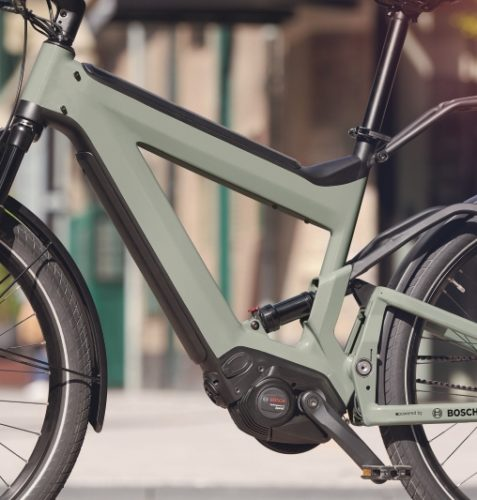 E-Bike mit Bosch Performance Line Speed