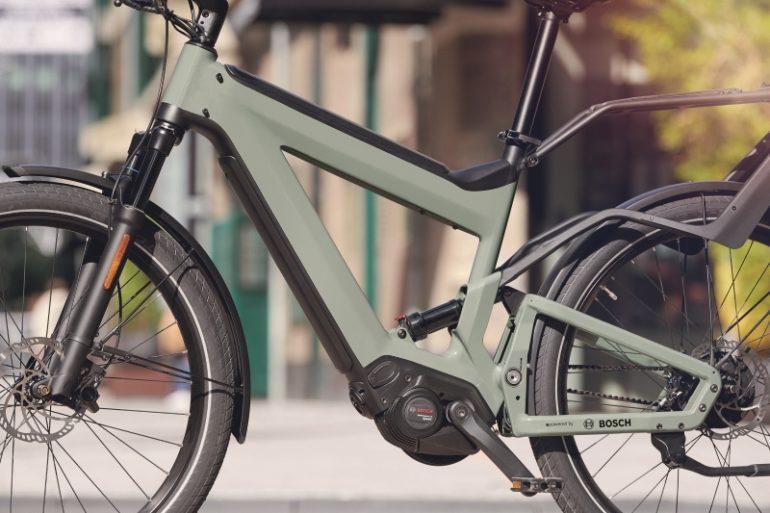 E-Bike mit Bosch Performance Line Speed