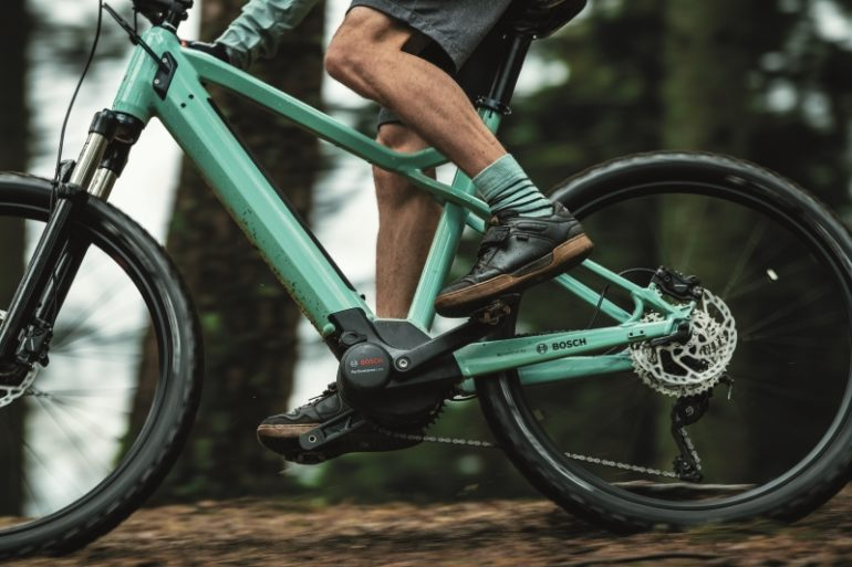 E-Bike mit Bosch Performance Line