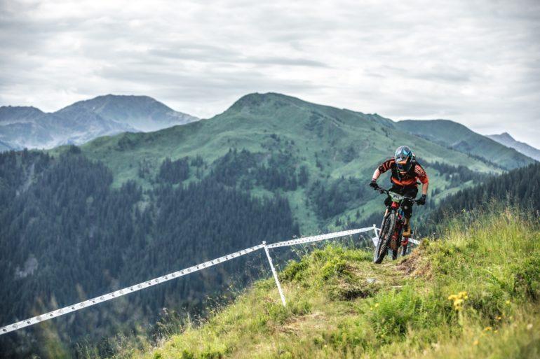 E-Bike im Gebirge