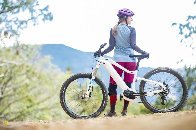 E-Mountainbike mit Yamaha PW ST-Antrieb