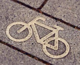 Fahrradpflasterstein