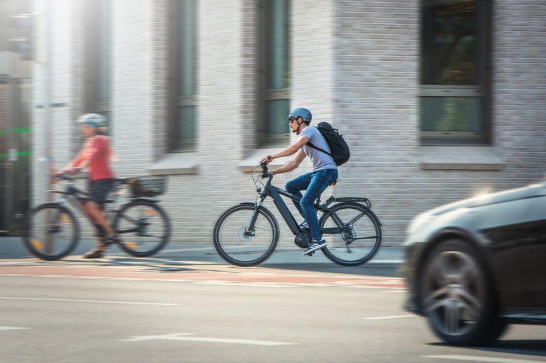 E-Bike mit Magura-Bremssystem