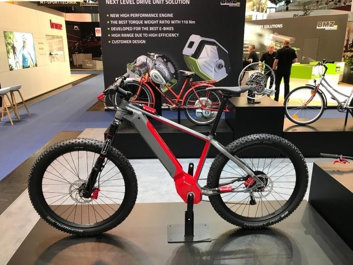 E-Bike mit Sachs RS E-Bike-Antrieb