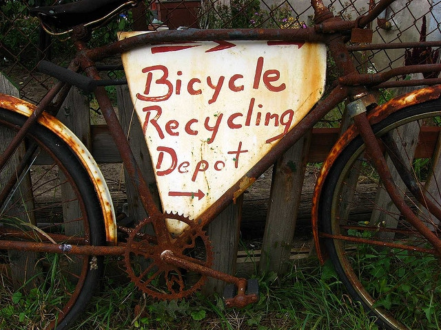 """Bicycle Recycling Depot"". Bildquelle: Peter Blanchard via flickr.com"