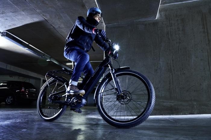 Riese & Müller E-Bike mit Fernlicht