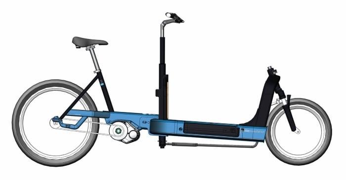 Cargobike FR 8 e-bike manufaktur