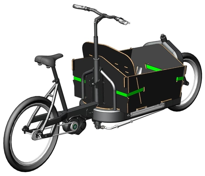 Cargobike FR 8 der e-bike manufaktur