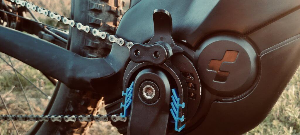 Spezialgerät Kettenmeister zum Überwinden des integrierten Freilaufs an E-Bikes mit Mittelmotoren
