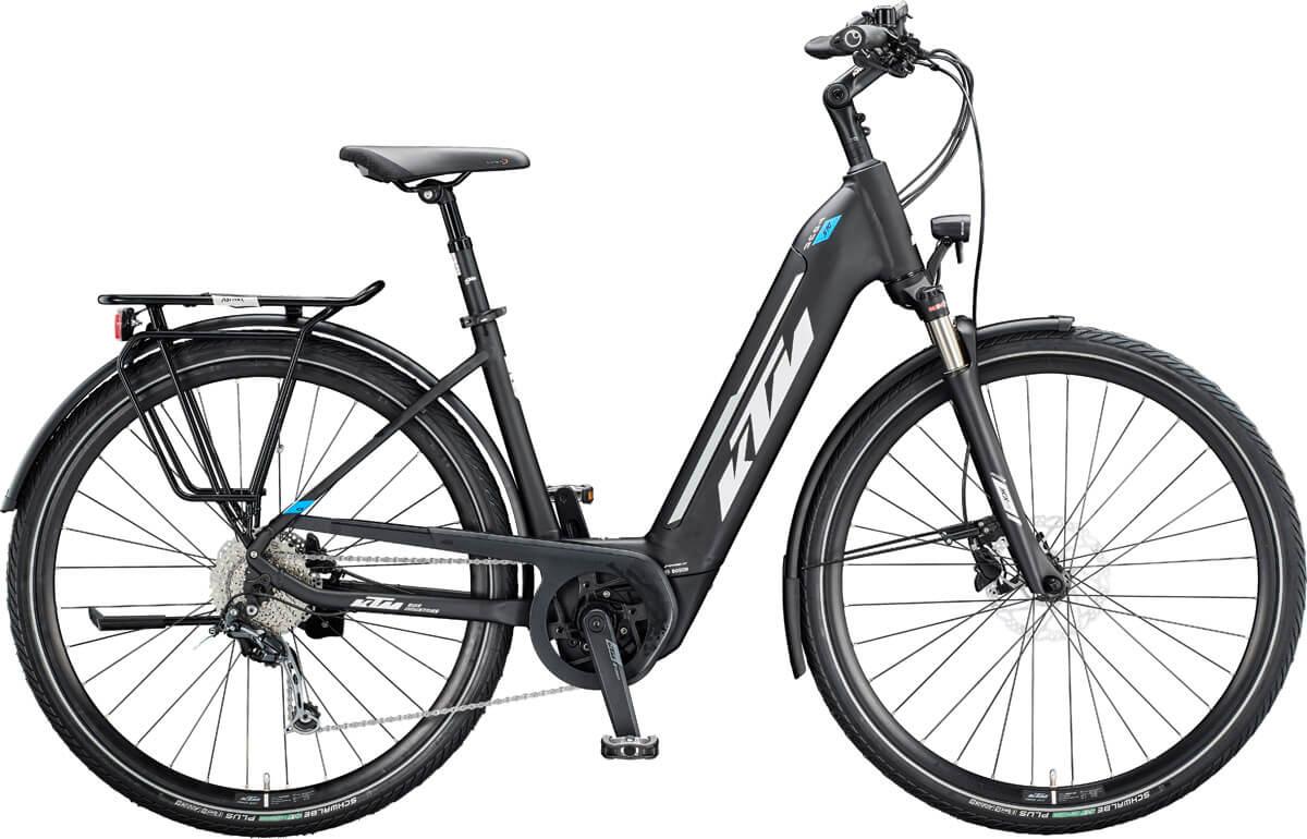E-Bike KTM MACINA TOUR 510 wird Testsieger bei Stiftung Warentest in der Kategorie Tiefeinsteiger-Pedelecs