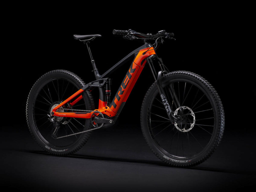 E-Bike Trek Rail 9.8 XT Action