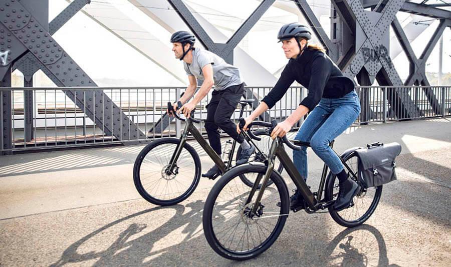 Titelbild Pendeln mit dem Bike fördert unsere Gesundheit