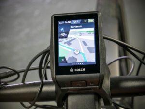 Bosch Nyon E-Bike Computer Navigation