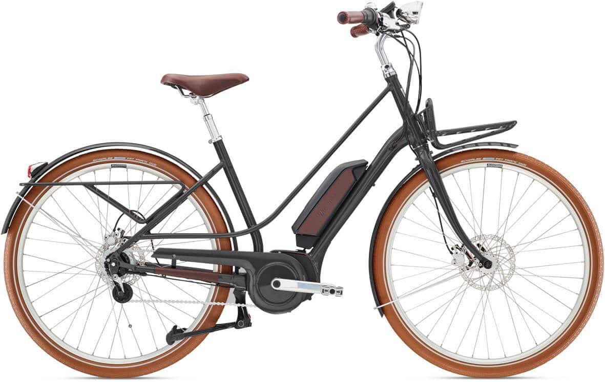 E-Bike Diamant Juna Deluxe+ 2021 mit Nabenschaltung tiefschwarz