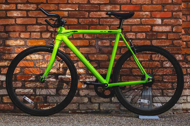 E-Bike Babymaker von FLX Bike in der Ausführung green