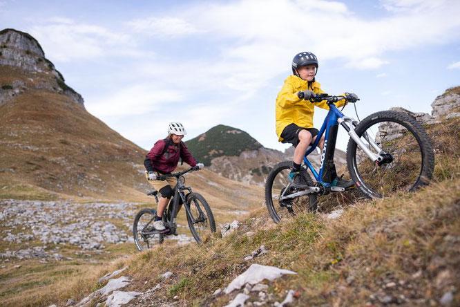 E-Bike Woom Up 5 und Woom Up 6 für Kinder - Tour 6
