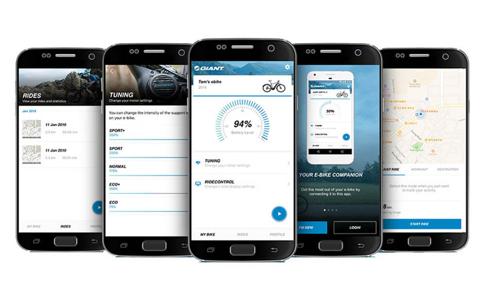 Giant RideControl App