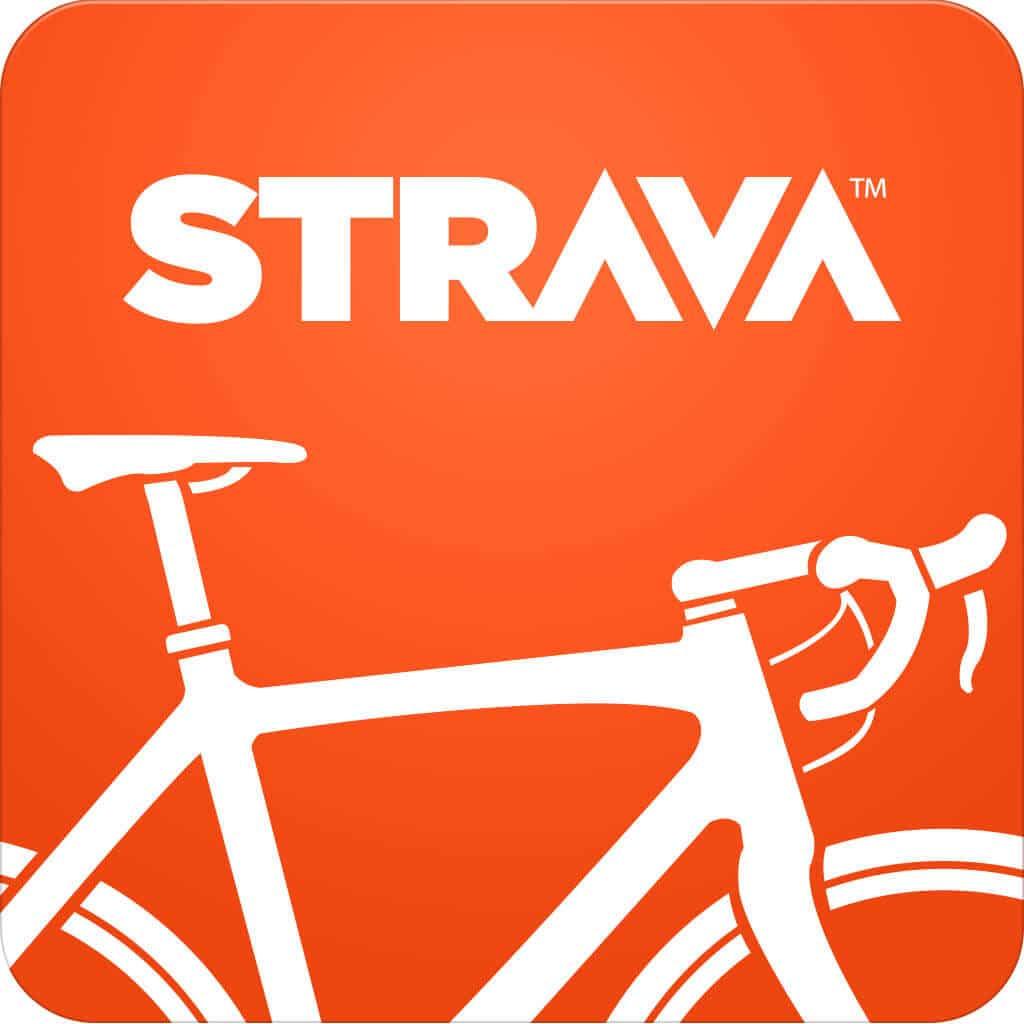 Strava Cycling Logo