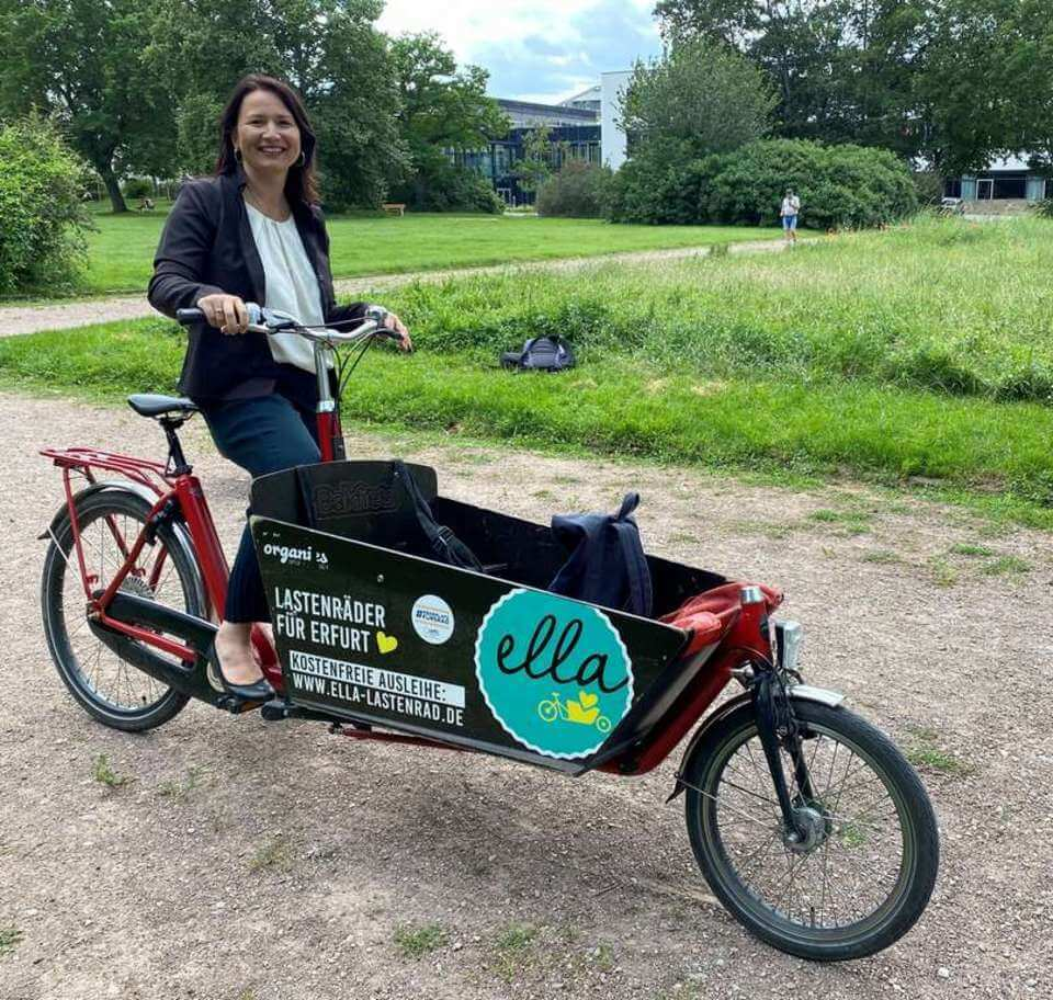 """Förderprogramm """"Cargo Invest"""" für E-Lastenfahrräder in Thüringen"""