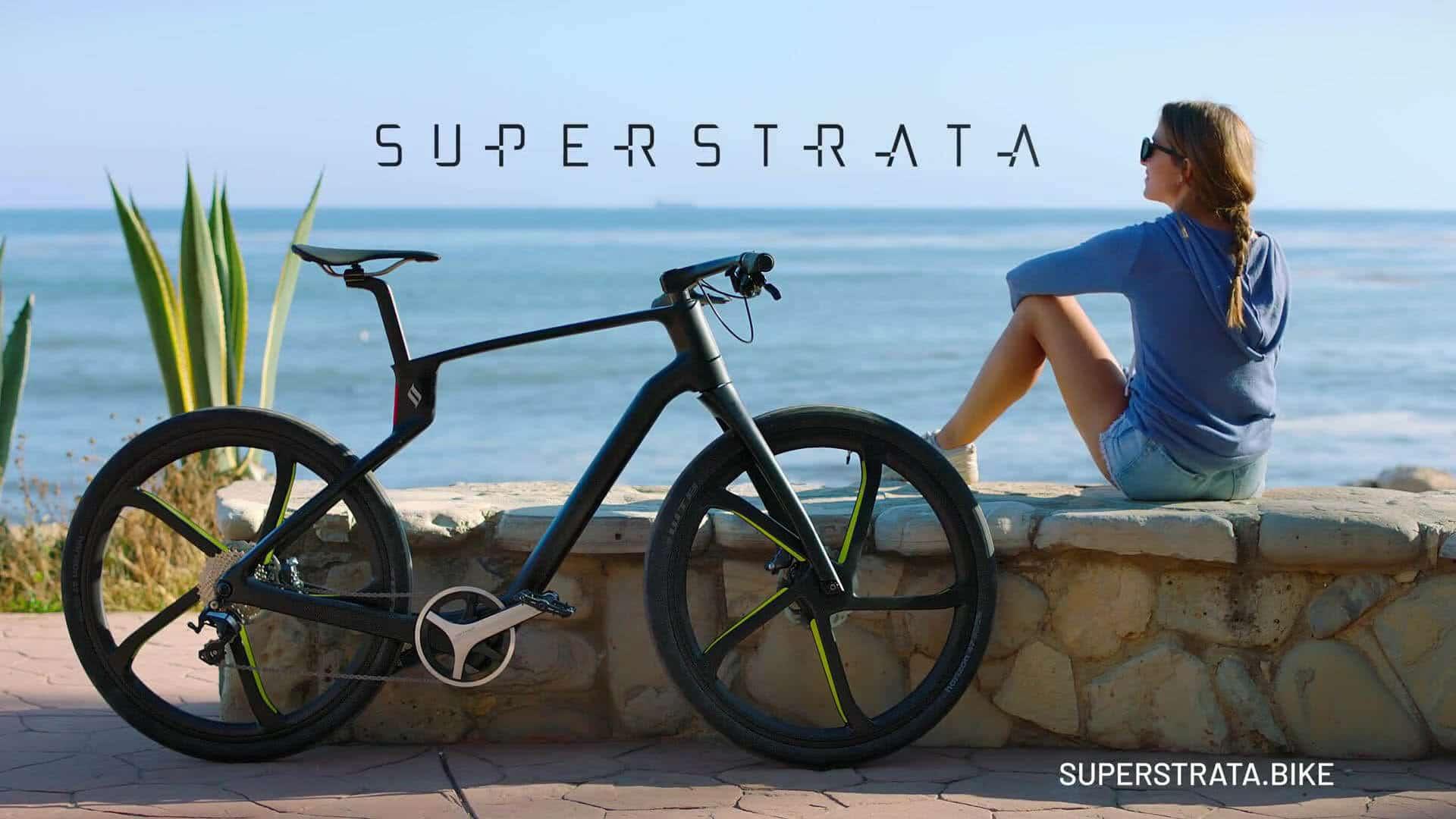 E-Bike Superstrata E Beach