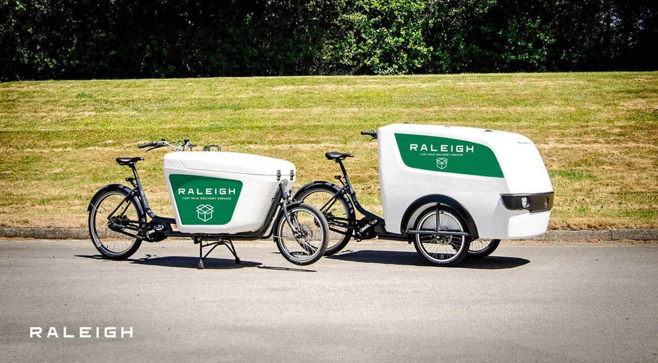 E-Lastenräder von Raleigh
