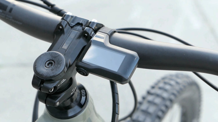 Shimano E-Bike Motor EP8 2020 Display