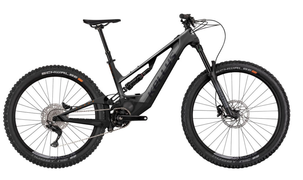 E-Bike Kellys Theos F-50 2021 anthracite