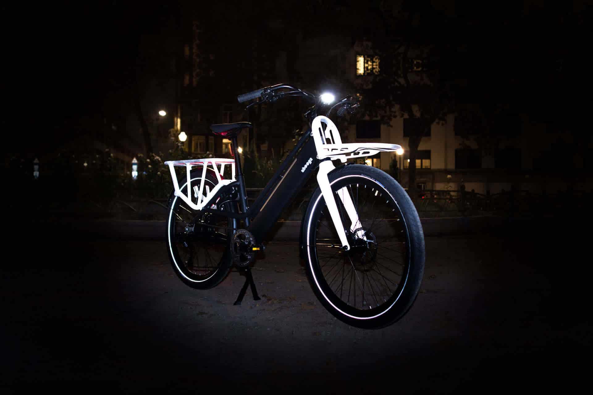 "Sonderedition ""Reflective"" des E-Bike Ahooga Modular"