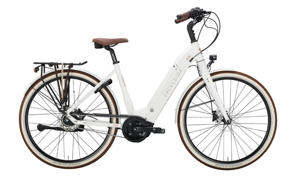 E-Bike Excelsior Pearl 2021 in Perlmut White