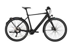 E-Bike Excelsior Urban-E in Schwarz matt