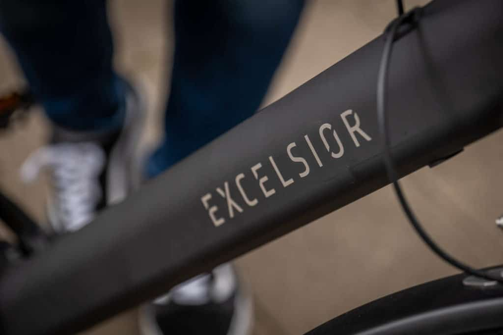 Integrierter Akku am Excelsior Urban-E