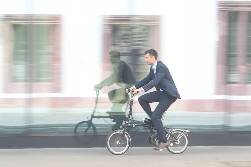 Pendix eDrive an Faltrad von Brompton