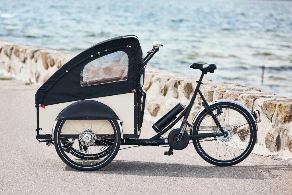 Pendix eDrive an Lastenrad von Christiana Bikes