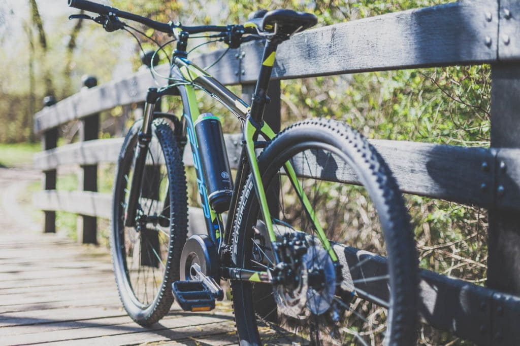 Pendix eDrive an Mountain-Bike