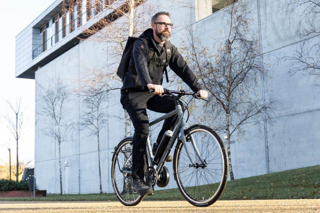 Pendix eDrive an Trekking-Bike von Santos Bikes