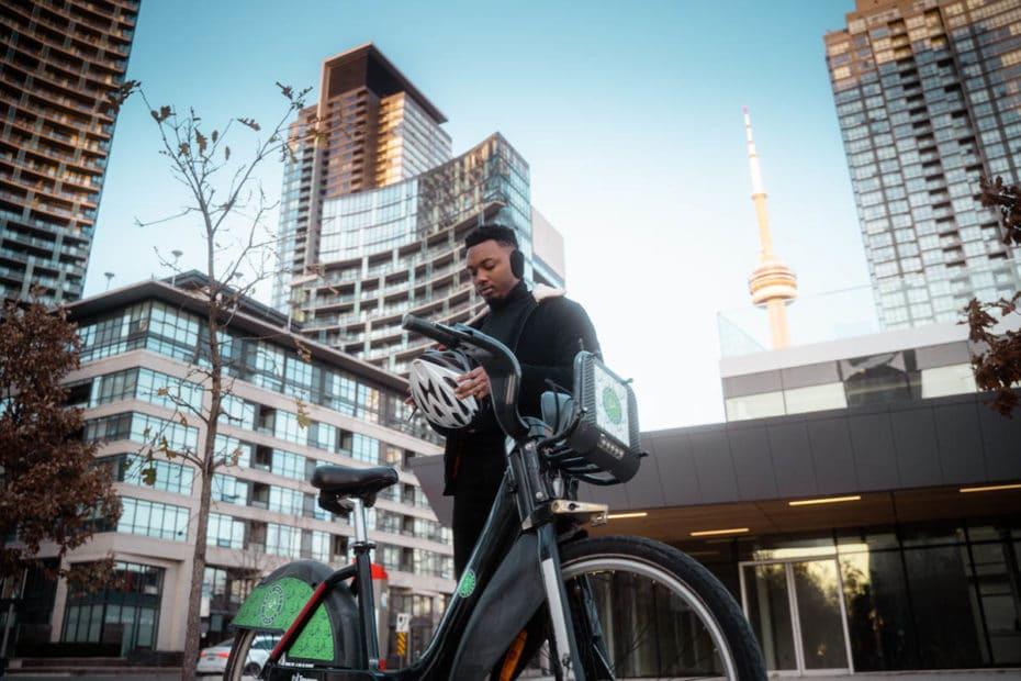Bike Sharing Toronto bietet E-Bikes zum Verleih in der Metropole Kanadas an