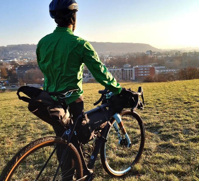 Taschen von Vaude zum Bikepacking für Tagestouren und längere Reisen