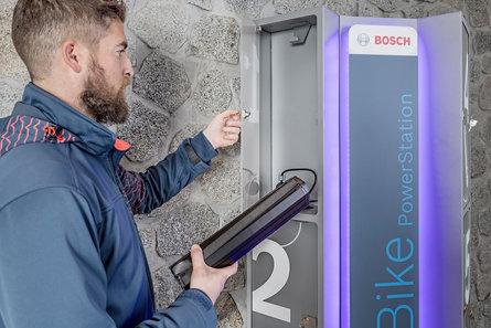 Ladestation für E-Bike-Akkus von Bosch
