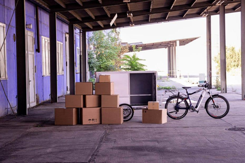 E-Bike-Lastenanhänger Greezzly XL