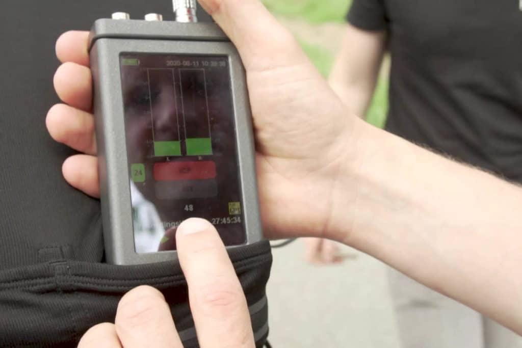 Handheld zur Schall- und Schwingungsmessung von Head Acoustics