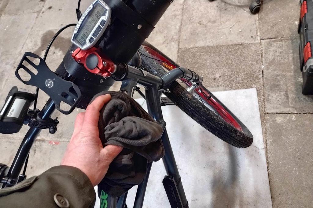 Winterpendlertag 2021 - Fahrradpflege