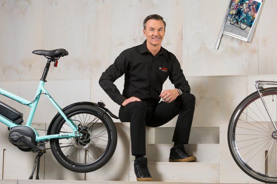 Bosch eBike Systems Geschäftsleiter Claus Fleischer