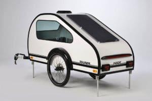 Solarpanel für Fahrradwohnwagen Mody von ModyPlast