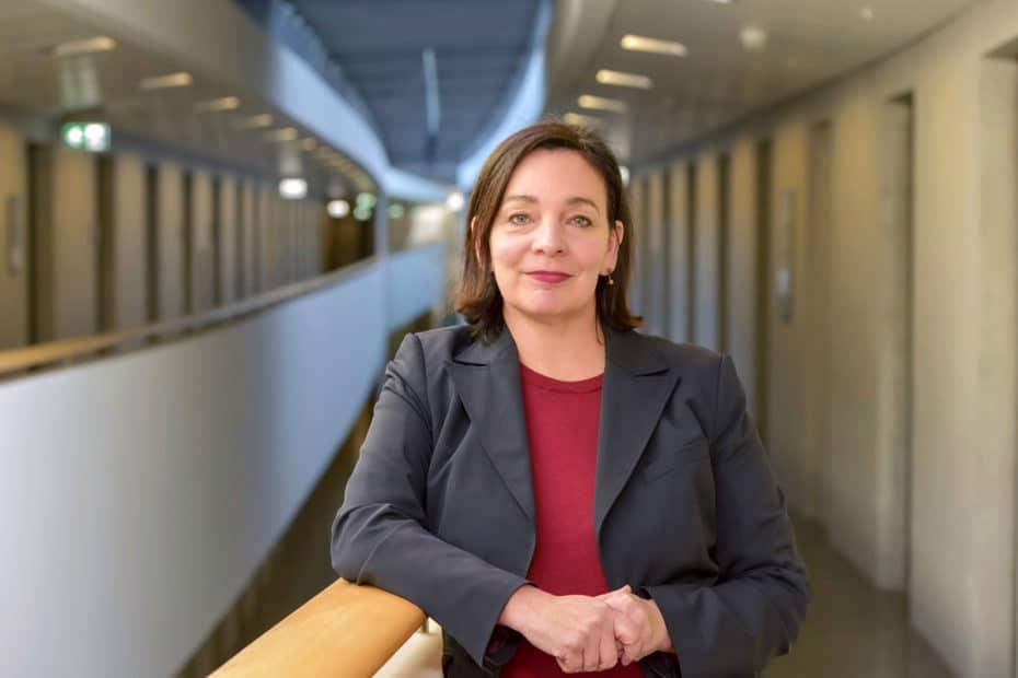 Marion Jungbluth leitet beim Verbraucherzentrale Bundesverband (vzbv) das Team Mobilität und Reisen