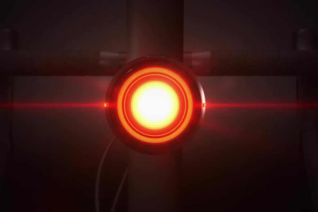 Rücklicht und GPS-Tracker Vodafone Curve Bike