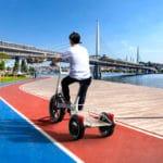 Konzept für dreirädriges E-Lastenrad von BMW namens Concept Dynamic Cargo
